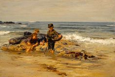 The Bait Gatherers -  William McTaggart