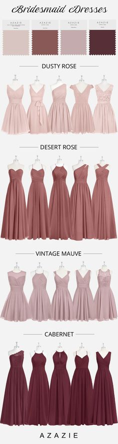 Choose your classic dusty rose bridesmaid gown from our selection. See Azazie's bridesmaids wearing dusty rose dresses and let yourself be inspired! Dusty Rose Bridesmaid Dresses, Dusty Rose Dress, Prom Dresses Blue, Pageant Dresses, Wedding Bridesmaids, Party Dresses, Flower Girl Tutu, Flower Girl Dresses, Flower Girls
