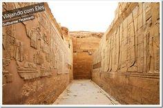 Guia de viagem sobre o Egito.