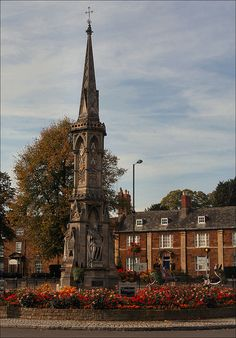 Banbury Cross, Oxfordshire, England ...as I was riding to Banbury Cross, I met a fine lady upon a white horse. With bells on her fingers and rings on her toes, she shall make music wherever she goes....