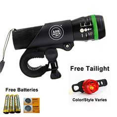AOR Power Bright LED Bicycle Lights- Tools-free Installation in Seconds - The Best Headlight Compatible With: Mountain & Kids & Street Bicycles AOR POWER http://www.amazon.com/dp/B017E8B6A8/ref=cm_sw_r_pi_dp_NqZAwb0P2PSJ2