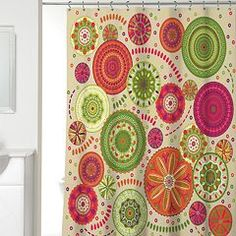 Festiva Fabric Shower Curtain
