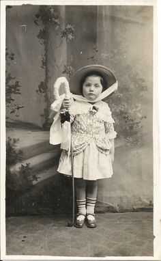 Little Bo Peep, vintage girl photo, little cutie, fancy dress, nursery rhyme, real photo, girl in costume, social history  (rppc/ch107) by jollybloom on Etsy https://www.etsy.com/listing/458831958/little-bo-peep-vintage-girl-photo-little