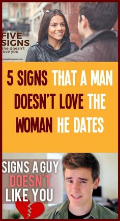5 Signs that a man don't love the dates of the woman Dont Love, Man In Love, Love Him, Ge Healthcare, Love Signs, For Your Health, How To Stay Healthy, Like You, Images
