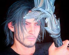 Snapshots/edits from Final Fantasy XV! Noctis Final Fantasy, Final Fantasy Artwork, Character Creation, Character Art, Noctis Lucis Caelum, Video Game Characters, Fantasy Series, Video Game Art, Gorgeous Men