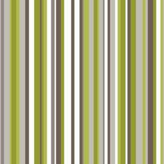 Sophia Stripe Wallpaper - Green