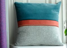 Harris Tweed cushion. Like G Plan, another great British heritage brand. Harris happens to be my surname too!