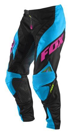 2011 Fox Racing Platinum Race Pants - Electric Blue