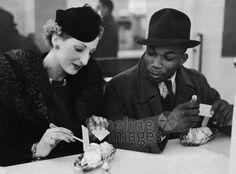 Eine weisse Frau und ein farbiger Mann, Germany, 1940