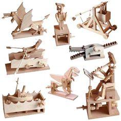 Timberkits: Brinquedos Mecânicos de Madeira