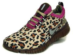 leopard print sneakers! I'd wear them.