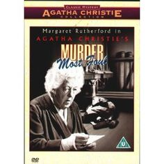 Murder Most Foul (1964) with Margaret Rutherford ---only one I actually enjoyed without Joan Hickson