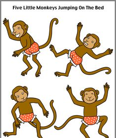 Where to find story props and clipart for your favorite stories and books. Retelling Activities, Preschool Learning Activities, Preschool Crafts, Felt Board Stories, Felt Stories, Nursery Rhymes Preschool, Monkey See Monkey Do, Bed Picture, Five Little Monkeys