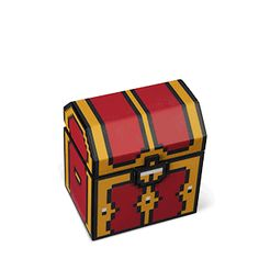 ThinkGeek :: Legendary 8-Bit Treasure Chest with LEDs and Sound