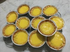 The egg tarts