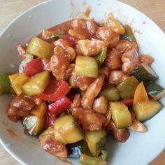 Sweet & Sour Chicken Recipe 糖醋雞丁食譜
