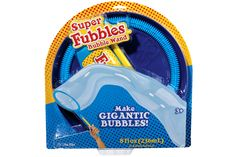 Super Fubbles Bubble Wand and over 7,500 other quality toys at Fat Brain Toys. Easy to hold, easy to use - and the bubbles? One word. ENORMOUS! The Super Fubbles Bubble Wand makes bubbles on an exceptionally large scale. These bubbles make child's play that's worth the watch! Designed for big excitement and lasting fun.