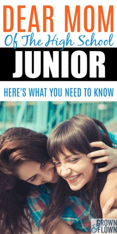 Before you know it your high school junior will enter their senior year and will be leaving the nest. Junior year in high school is a voyage of discov. Senior Year Of High School, High School Hacks, High School Life, High School Graduation, High School Seniors, School Tips, School Stuff, Middle School, Raising Teenagers