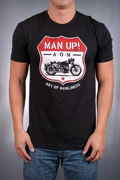 7b752ae24 art of manliness tshirt gift for hubby