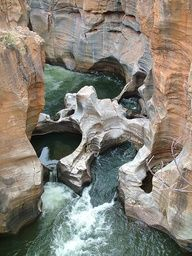 Bourke's Luck Potholes in Blyde River Canyon, is part of Blyde River Canyon Nature Reserve Wikipedia - Bourke's Luck Potholes in Blyde River Canyon, South Africa (by kath & theo) Places To Travel, Places To See, The Places Youll Go, Places Around The World, Around The Worlds, Beautiful World, Beautiful Places, Les Seychelles, Magic Places