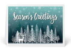 16 best whimsical holiday greeting cards images on pinterest whimsical winter holiday greeting card m4hsunfo