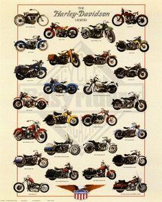 Poster 'Harley-Davidson, la leggenda', Dimensione: 40 x 50 cm, http://www.amazon.it/dp/B00AE0Q61I/ref=cm_sw_r_pi_awdl_fUruxb88AS75T