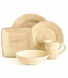 Artimino Tuscan Countryside Cream Dinnerware #Dillards  Need to replace my broken pieces!