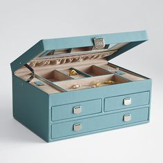 "Beautiful ""grown up"" jewelry box.  Although, I do miss the little dancer.  ;)"