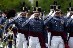 Parade @ The Citadel In full dress uniforms