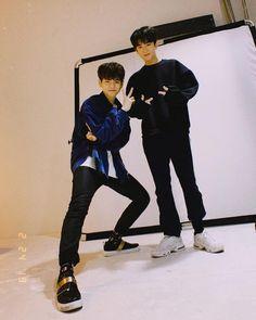 yoshinori and yoonbin Yoshi, Yg Entertainment, Fandom, Golden Child, Hanbin, Kpop, Treasure Boxes, Handsome Boys, Boyfriend Material