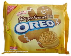 Limited Edition Gingerbread Oreo by theimpulsivebuy, via Flickr
