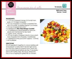 Everything is better with a little #booze!  Try this Mango Pico de Gallo Featuring our Party Mix Mango Cocktail!   Order yours at Jessica.mixparty.com  #summer #picodegallo #mango #fresh #Delish #Party