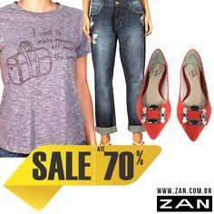 Comece a semana com um look cheio de estilo! #VaideZan