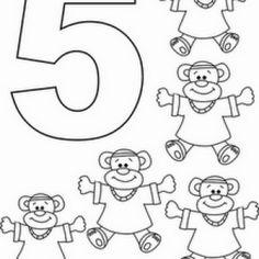 HAYVANLI RAKAM BOYAMA RESİMLERİ | Nazarca.com Origami, Day, Preschool, Origami Paper, Origami Art