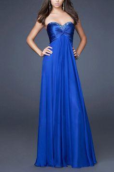 Long A-line Sweetheart Empire Chiffon Prom Dress Only $159.73 http://www.ulovee.com/long-aline-sweetheart-empire-chiffon-prom-dress_p962.html