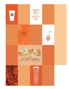 Pumpkin Spice Everything! Free Happy Planner Printable