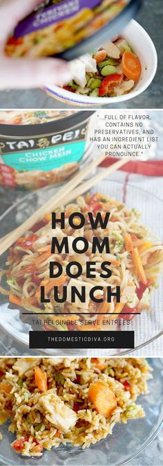 #AD How Mom Does Lunch with Tai Pei Frozen Single Serve Entrees (review plus giveaway) #TaiPeiFrozenFood #IC #homeschool #mom #lunch #quicklunchideas #stayathomemom #giveaway #review #asianfood