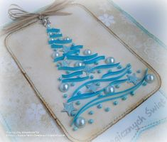 quilled christmas tree - Google Search