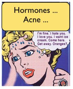#Acne #Hormones