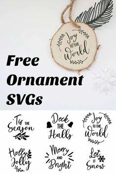 Christmas Ball Ornaments Diy, Cricut Christmas Ideas, Christmas To Do List, Glitter Ornaments, Diy Ornaments, Wooden Ornaments, Christmas Svg, Simple Christmas, Xmas