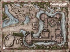 d&d prison battle map - Google Search