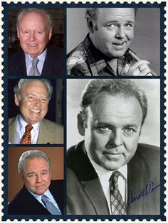 Carroll O'Connor was born on August 2, 1924, in New York City. He served in World War II as a merchant marine. He became a stage actor and appeared regularly as a character actor on TV in the 1960s, but it was his portrayal of Archie Bunker in the 1970s sitcom All in the Family that made him a star. He won four Emmy Awards for the role. He died on June 21, 2001.