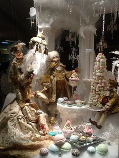 """Our Fabulous Window Display Christmas 2013 """" The Fable of the Snow Monkey """""""