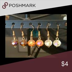Round Earrings BOGO Choose between Crystal, gold, or brown (as pictured). 1 for $4, 2 for $6, 3 for $8, 4 for $10, 5 for $12 and so on. Orders including 10 or more $4 priced are eligible for any earrings after 10 pairs is only $1 each! Creation Central Jewelry Earrings
