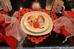 Between Naps on the Porch | Valentine�s Day Table Settings, Great for the Kids | http://betweennapsontheporch.net