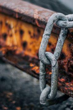 chain, rust