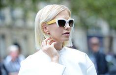 a7647df7f34 Lena Perminova wearing Repossi Jewelry and Miu Miu Sunglasses