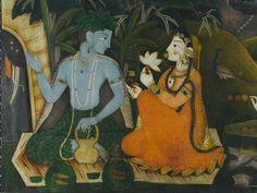 Sita and Rama in exile