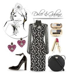 """Dolce & Gabana"" by collagette ❤ liked on Polyvore featuring Dolce&Gabbana and Garance Doré"