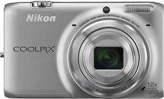 Nikon - Coolpix S6500 16.0-Megapixel Digital Camera - Silver